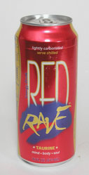 Red Rave Energy Drink