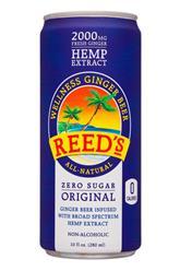 Wellness Ginger Beer - Original Zero Sugar (CBD 15mg)