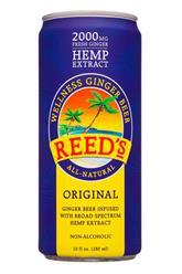 Wellness Ginger Beer - Original (CBD 15mg)