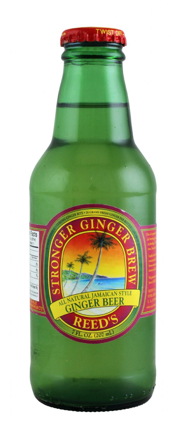 Reed's Ginger Brews: Reeds Ginger Front