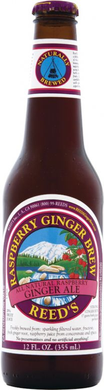 Raspberry Ginger Brew