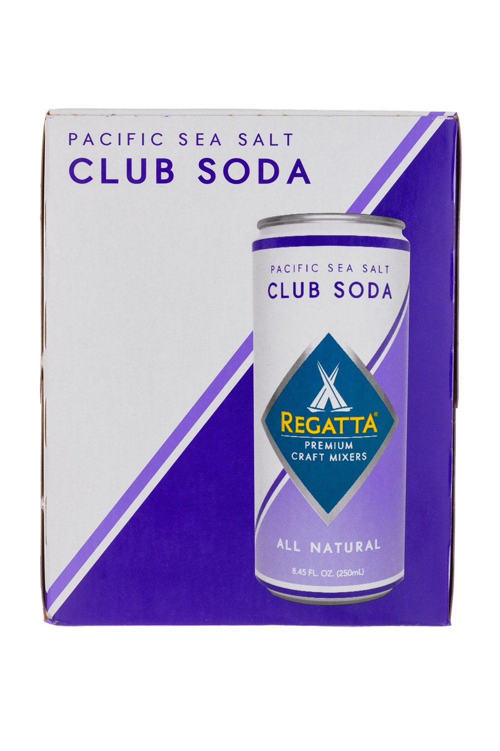 Pacific Sea Salt Club Soda (4 pack)