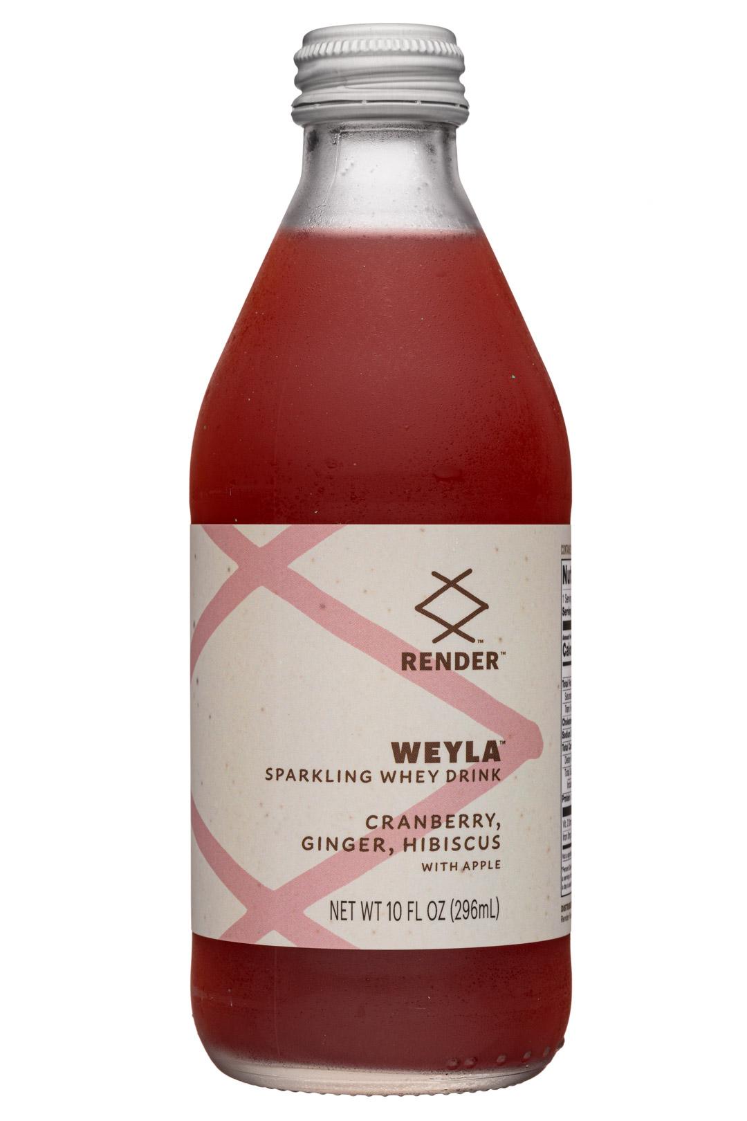 Weyla: Cranberry, Ginger, Hibiscus with Apple