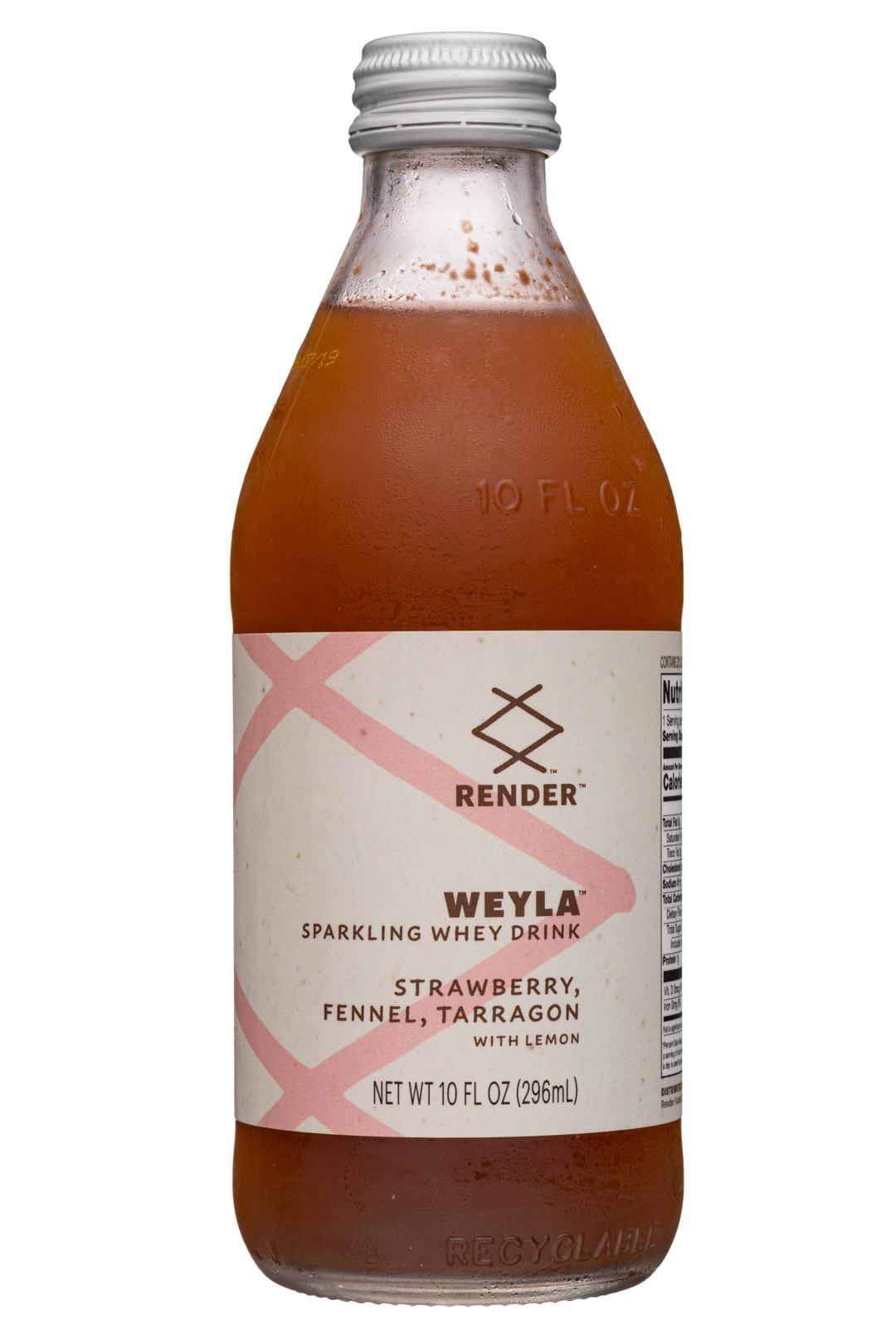 Weyla: Strawberry, Fennel, Tarragon with Lemon