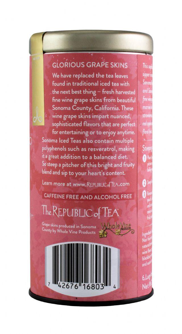 Republic of Tea Unsweetened Iced Tea: Sonoma Facts