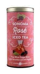 Republic of Tea Unsweetened Iced Tea: Sonoma Front