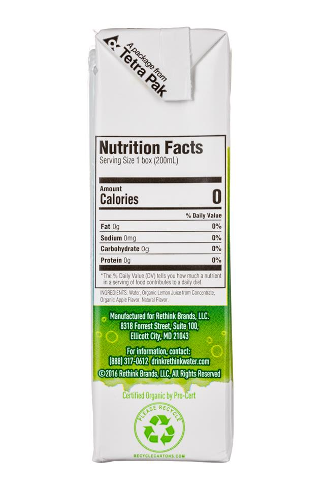 Rethink Water: ReThink-Kids-7oz-Apple-Facts