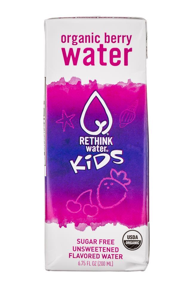Rethink Water: ReThink-Kids-7oz-Berry-Front