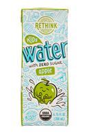 Rethink Water: Rethink-7oz-KidsWater-Apple-Front