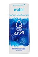 Rethink Water: ReThink-Kids-7oz-Water-Front