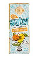 Rethink Water: Rethink-7oz-KidsWater-OrangeMango-Front