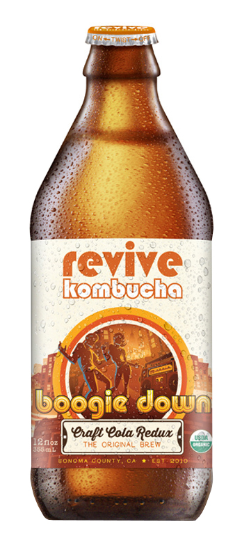 Revive Kombucha: Revive_BoogieDown