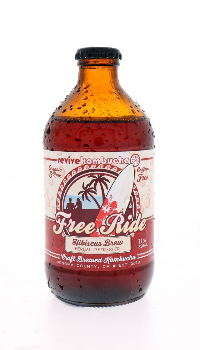 Revive Kombucha: Revive FreeRide Front