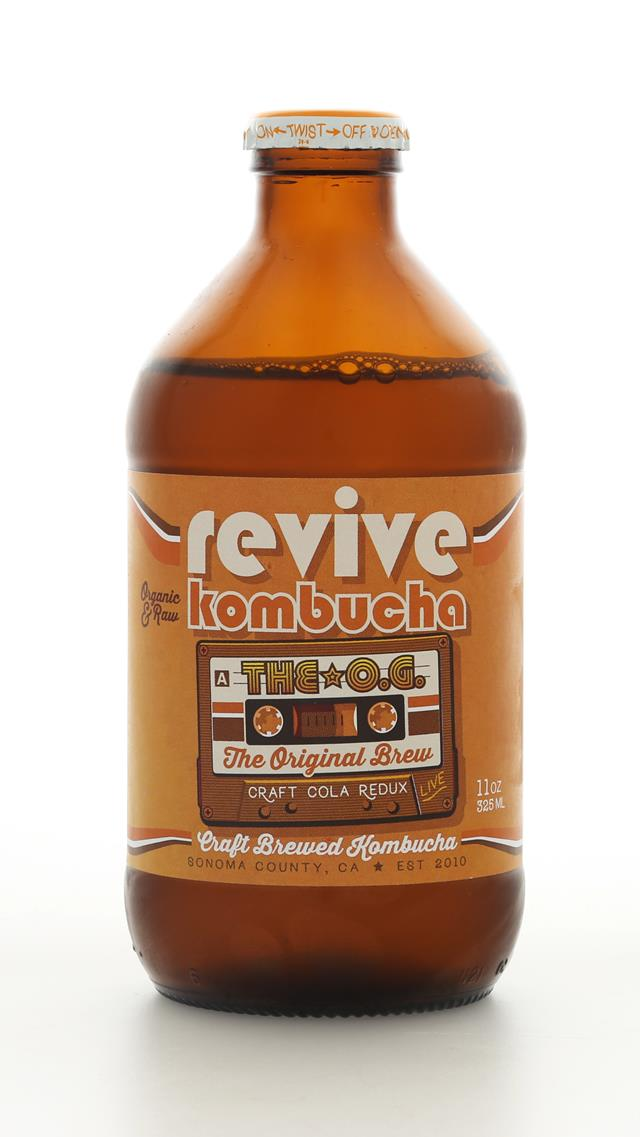 Revive Kombucha: ReviveKombucha OriginalBrew Front