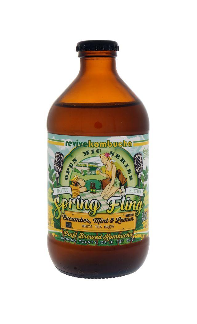Revive Kombucha: Revive SpringFling Front