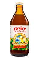 Revive Kombucha: ReviveKombucha-12oz-TropicWonder-OrangeCayenne-Front