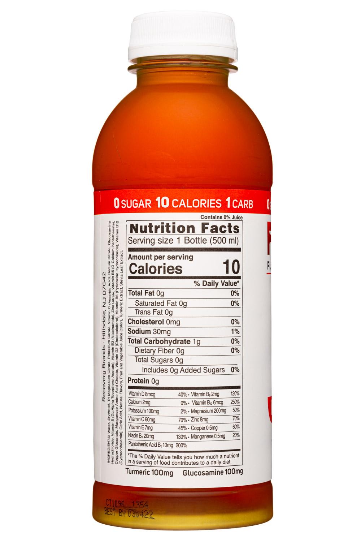 Rez Plant-Based Hydration: Rez-17oz-2021-ImmuneSupport-FruitPunch-Facts