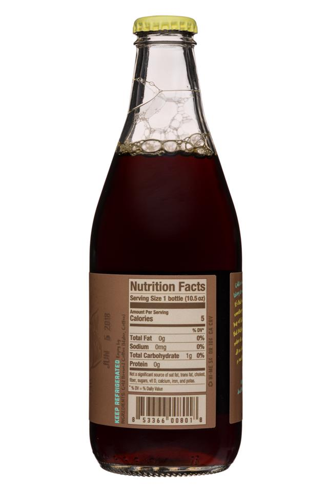 Riff Cold Brew: Riff-10oz-ColdBrewCoffee-OffTheCuff-Facts