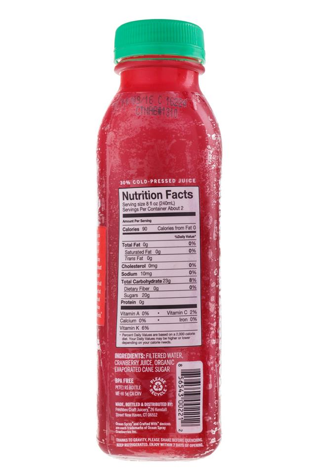 Ripe Craft Juice: RipeCraft-Juice-Cranberry-Facts
