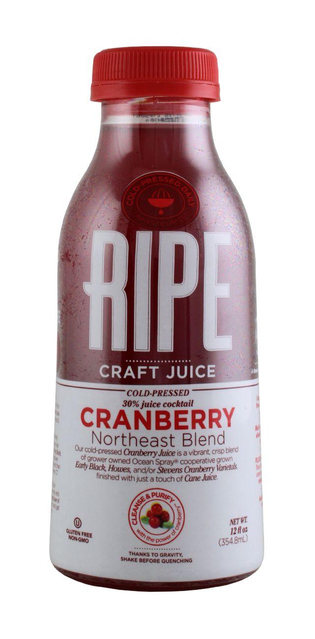 Ripe Craft Juice: Ripe Cran Front