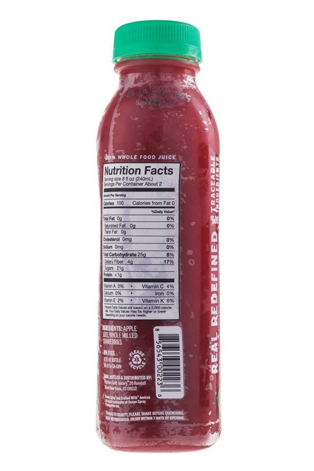 Ripe Craft Juice: RipeCraft-Juice-CranApple-Facts