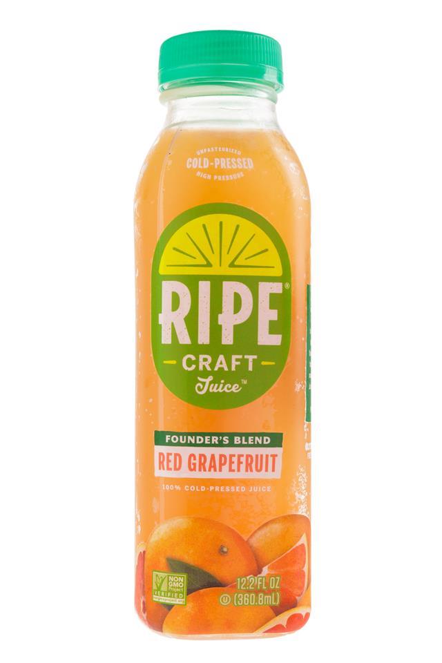Ripe Craft Juice: RipeCraft-Juice-RedGrapefruit-Front