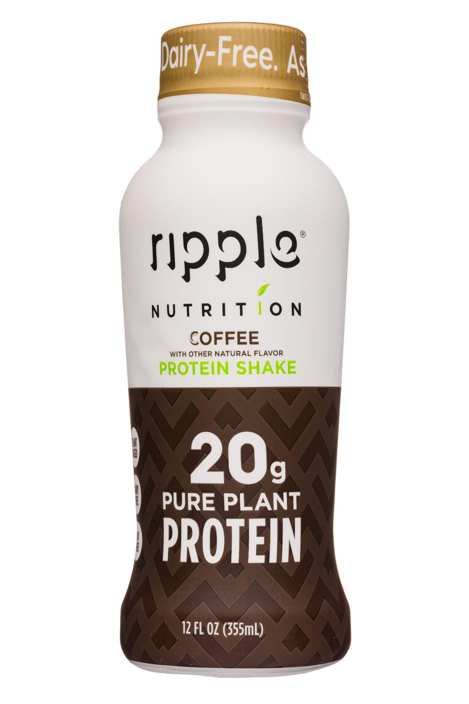 Ripple Foods: Ripple-12oz-ProteinShake19-Coffee-Front