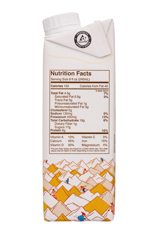 Ripple Foods: Ripple-8oz-PeaMilk-Choc-Facts