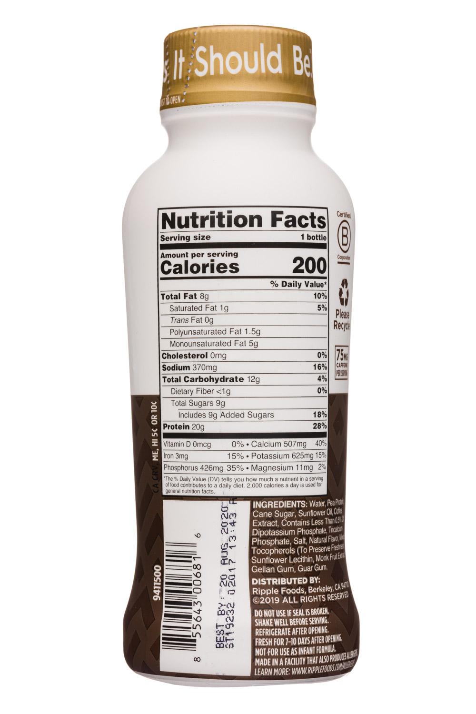 Ripple Foods: Ripple-12oz-ProteinShake19-Coffee-Facts