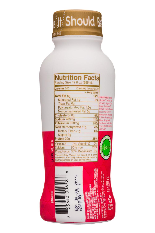 Ripple Foods: Ripple-12oz-ProteinShake-Vanilla-Facts