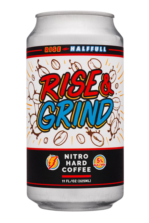 Rise & Grind - Nitro Hard Coffee 5% alc/vol