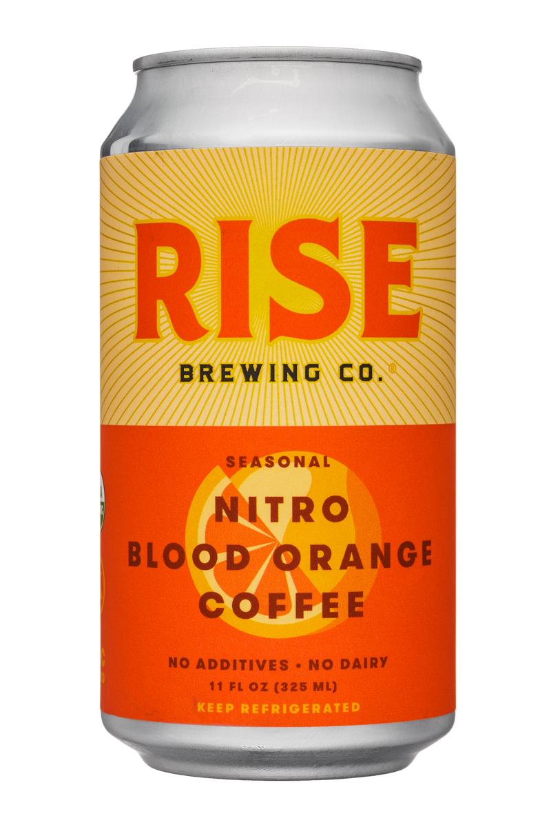 Rise Brewing Co.: Rise-11oz-Nitro-BloodOrange-Front
