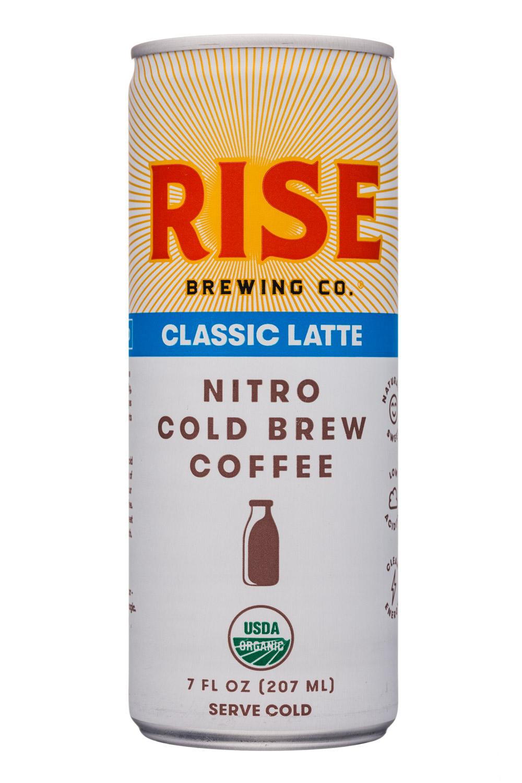 Rise Brewing Co.: Rise-7oz-NitroLatte-Classic-Front