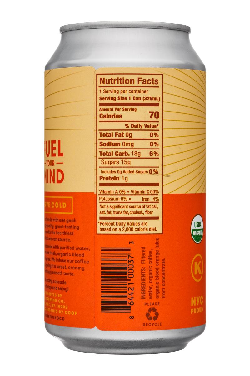 Rise Brewing Co.: Rise-11oz-Nitro-BloodOrange-Facts
