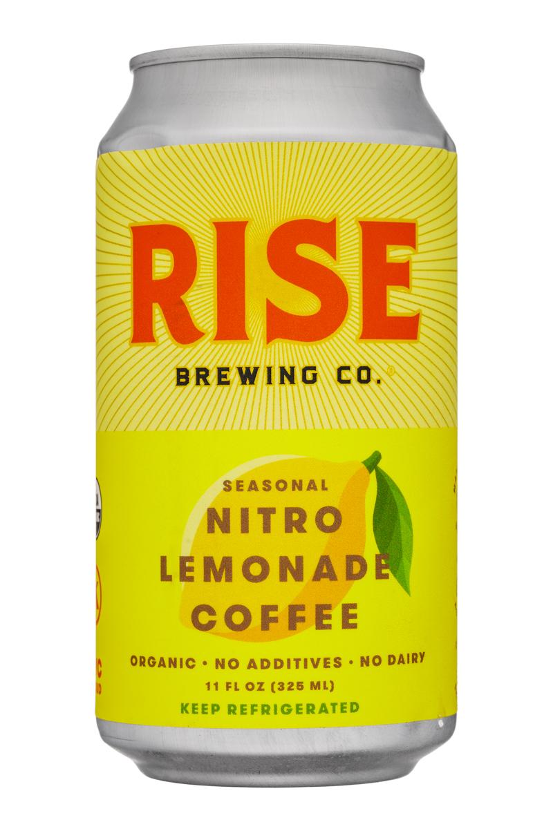 Rise Brewing Co.: Rise-11oz-NitroLemonadeCoffee-Front
