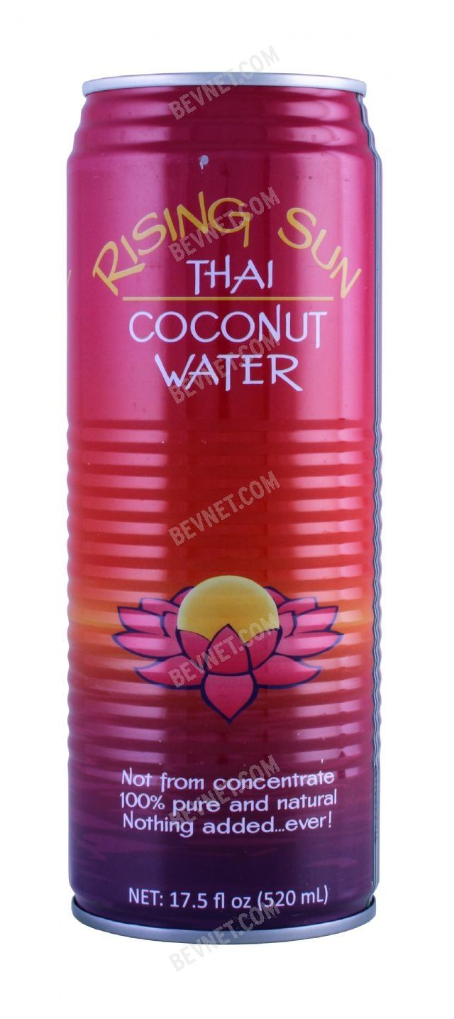 Rising Sun Thai Coconut Water: