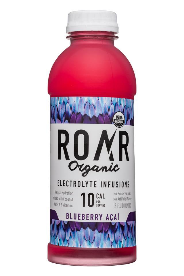 Roar: Roar-18oz-Organic-BluebAcai-Front