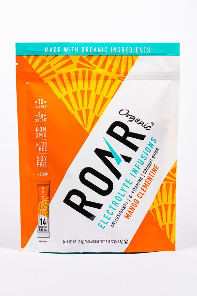 Roar: Roar-14pckt-ElectroInfusions-MangoClementine