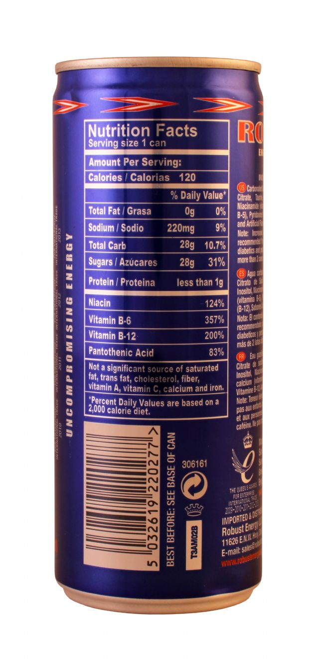 Robust Energy: Robust Taurine Facts