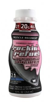 Muscle Recovery Strawberry Milk