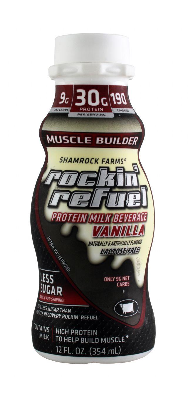 Rockin Refuel: RockinRefuel VanillaLactoseFree Front