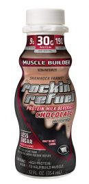 Rockin Refuel: Rockin' Refuel Muscle Builder Chocolate