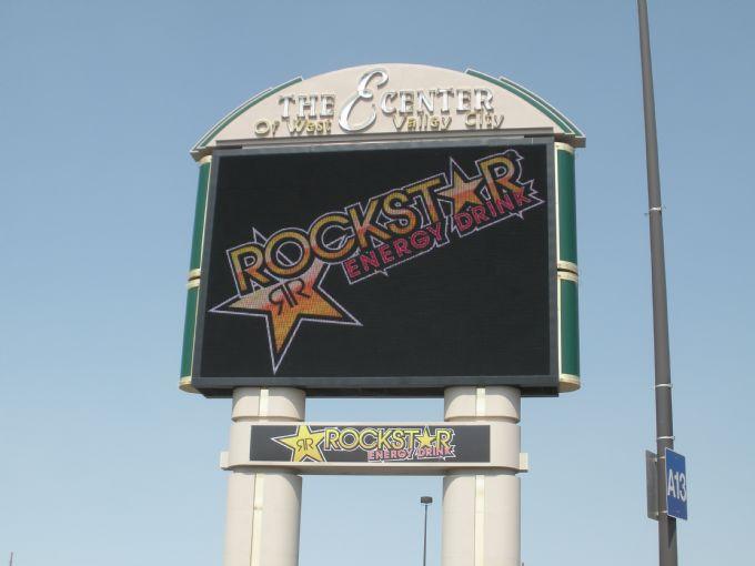 Rockstar Energy Drink: ECENTER Arena Marquee