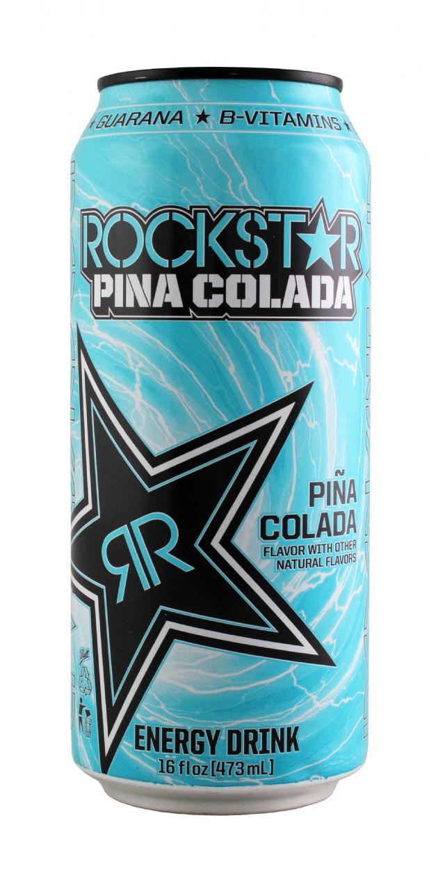 Rockstar Energy Drink: Rockstar PinaColada Front