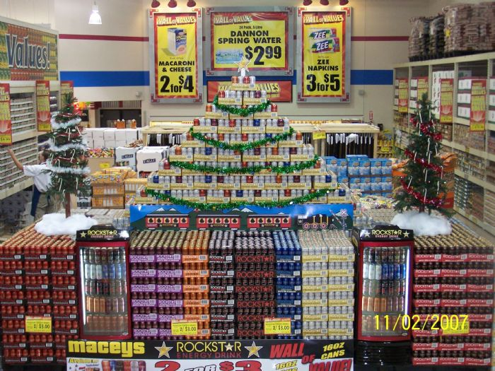 Rockstar Energy Drink: LARGEST ROCKSTAR DISPLAY IN THE WORLD