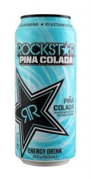 Rockstar PinaColada Front