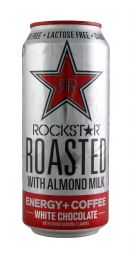 Rockstar Roasted: Rockstar AlmondWhiteChoco Front