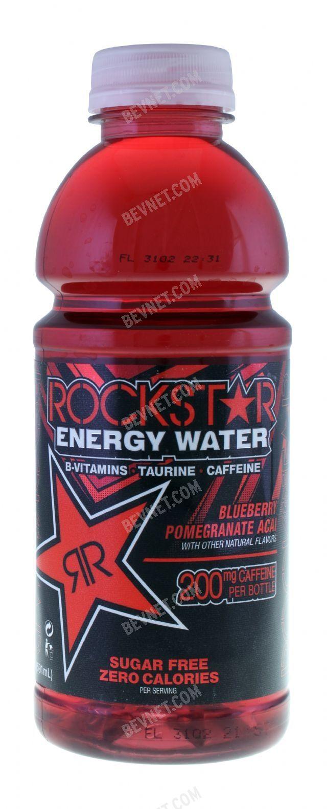 Rockstar Energy Water: