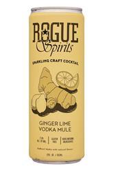Sparkling Craft Cocktail - Ginger Lime Vodka Mule
