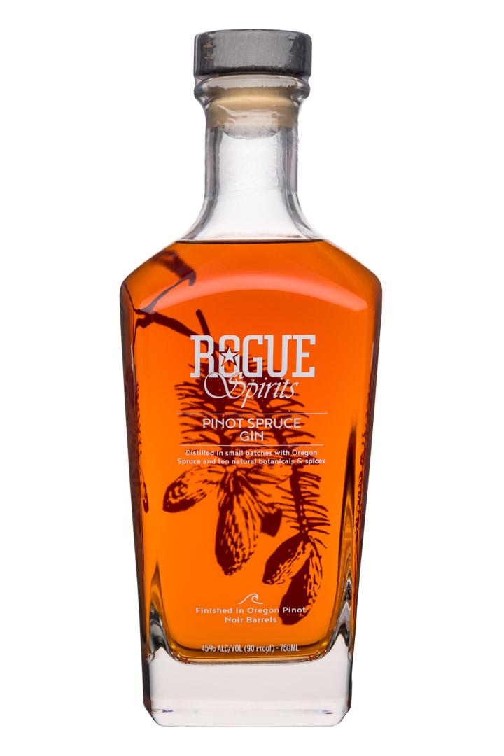 Rogue Spirits: Rogue-Spirits-750ml-PinotSpruceGin